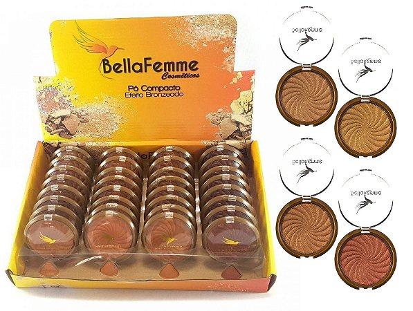 Pò Iluminador Bronzer Bella Femme BF10038 ( 32 Unidades )