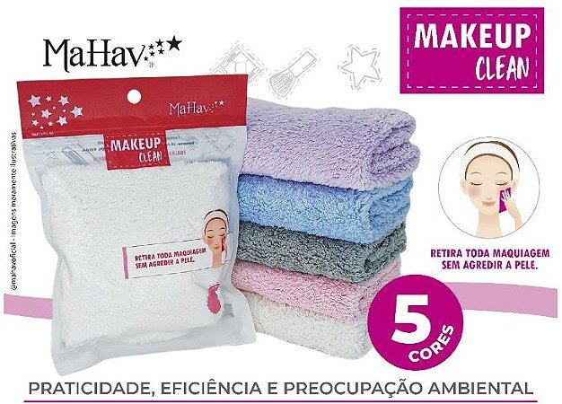 Toalha Make Up Clean Removedora de Maquiagem ( Cor Rosa )