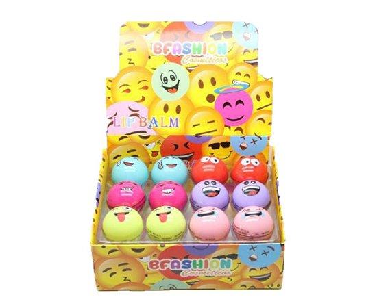 Lip Balm Hidratante Labial Emoji Bfashion  NR5005 ( 24 Unidades )