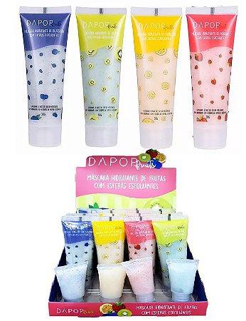 Máscara Hidratante de Frutas com Esferas esfoliantes DP2044 ( 16 Unidades + Prov )