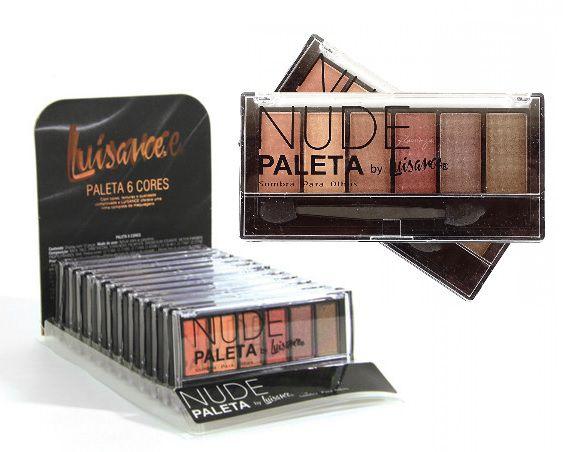 Paleta de Sombras Nude Luisance L682 ( 12 Unidades )