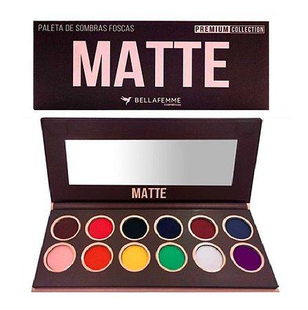 Paleta de Sombras Premium Collection Matte BF10065