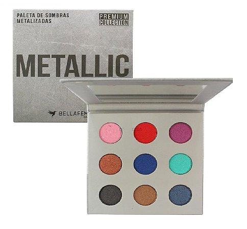 Paleta de Sombras Metallic Premium Collection BF10068