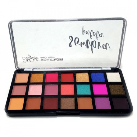 Paleta de Sombras 21 Cores Special Attractive Mylife MY8138-Cor1