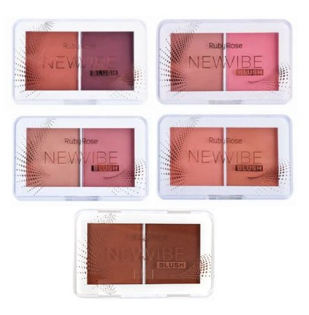 Blush Duo New Vibe Ruby Rose HB6114 ( 6 Unidades )