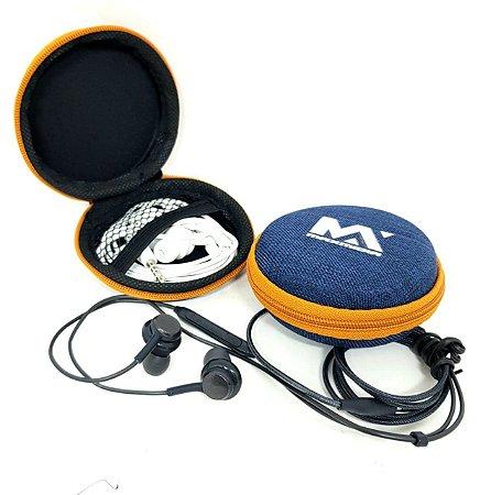 Fone de Ouvido com Microfone e COntrole de Volume MAx Midia MAx-07 ( 10 Unidades )