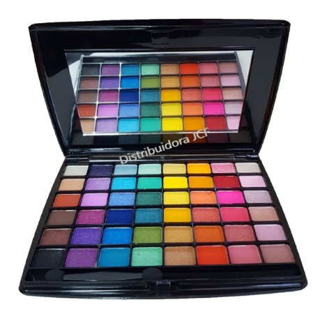 Paleta de Sombras Colorida 48 Cores My Everything  Jasmyne JS0706 ( 12 Unidades )