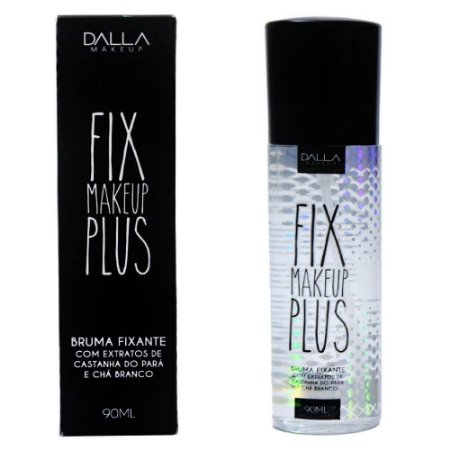 Bruma Fix Makeup Plus Bruma Fixante Vegano Dalla Makeup DL039 - Kit com 6 Unidades