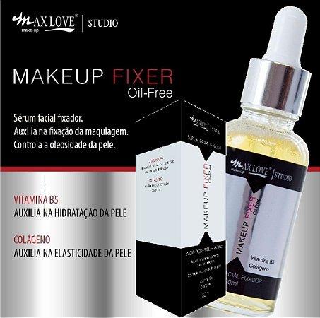 Serum Facial HIdratante Antioleosidade com Vitamina B5 e Colágeno Max Love FIxer