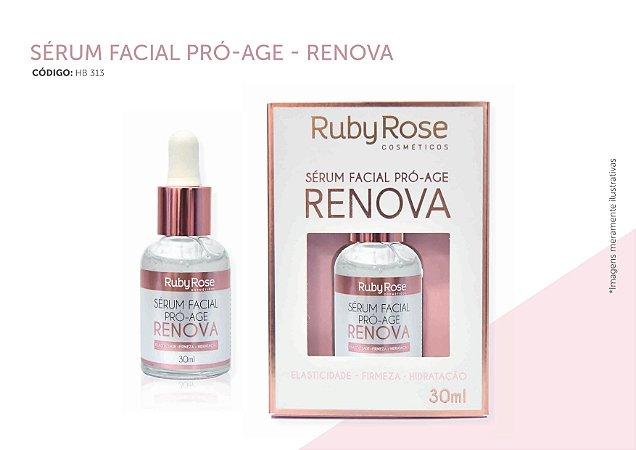Sérum Facial Pró-Age Renova Ruby Rose HB313 -  Kit com 6 Unidades ( Valid 07/20)