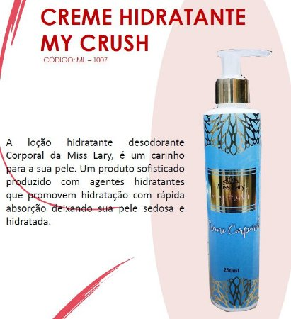 Creme HIdranate My Crush ML1007
