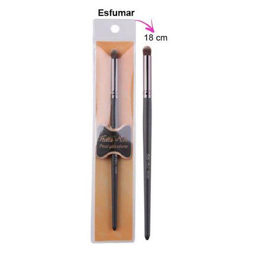 Pincel para Esfumar Sombras no Côncavo Hello Mini EA20 - Kit com 12 Unidades
