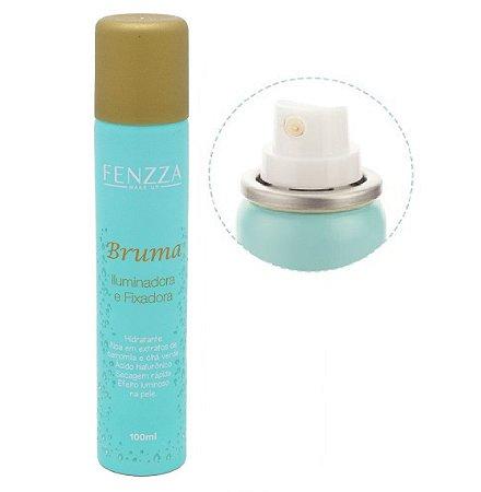 Bruma Iluminadora e Fixadora de Maquiagem Fenzza FZ33003-Ouro ( Kit com 12 Unidades )