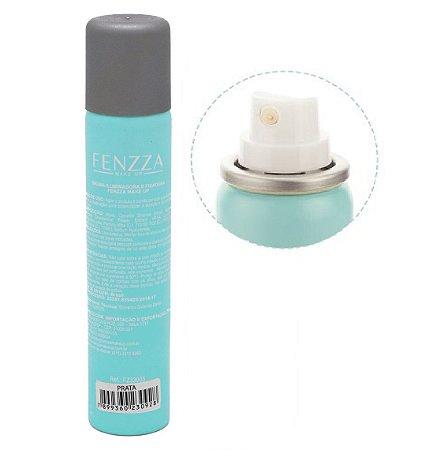 Bruma Iluminadora e Fixadora de Maquiagem Fenzza FZ33003 - Prata ( Kit com 12 Unidades )