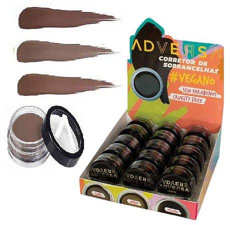 Adversa - Corretor de Sobrancelhas Vegano AD507 - Kit com 15 Unidades