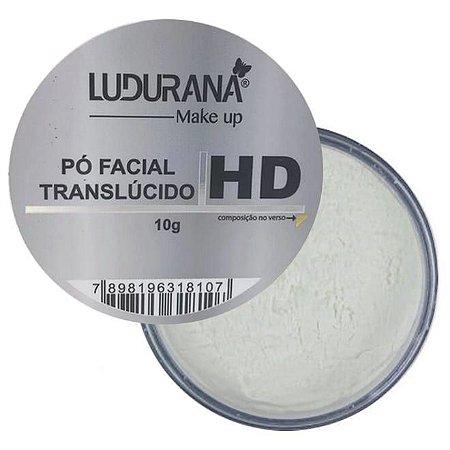Pó Facial Translucido 10g Ludurana M00100 - Kit com 18 Unidades