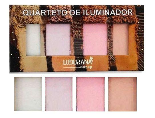 Quarteto Iluminador Ludurana M00104 - Kit com 12 Unidades