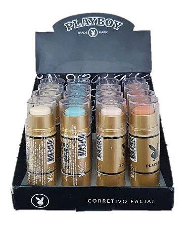 Corretivo Facial PLayboy HB89626 - Kit com 16 Unidades