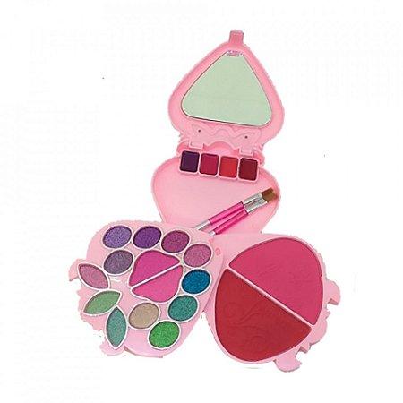 Kit de Maquiagem Moranguinho Rosa Any Color 1213