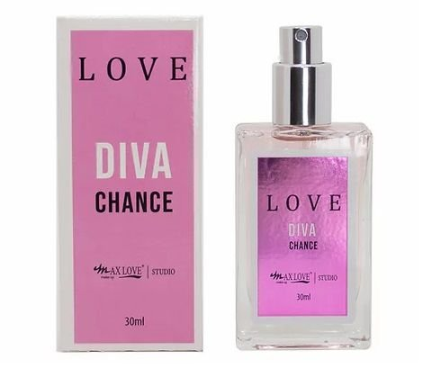 Perfume Love Diva Chance - Display com 21 Unid e Prov