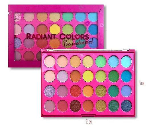 Paleta de Sombras Radiant Color Be Welcome CG204
