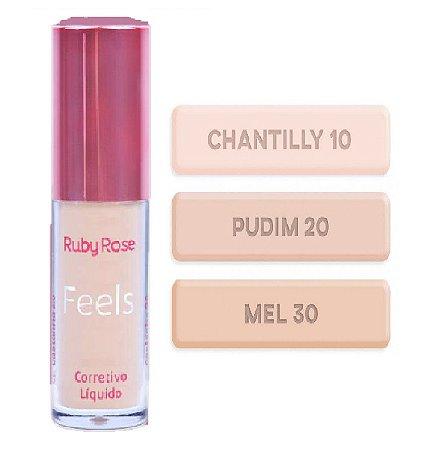 Corretivo Liquido Matte Feels Nude Ruby Rose HB8102-01 ( Unitário )