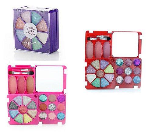 Kit de Maquiagem Infantil Turma da Lu LT616 - Kit com 12 Unidades