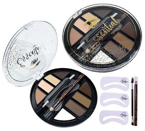 Estojo de Sombrancelha Eyebrow Kit Essential Playboy HB97776