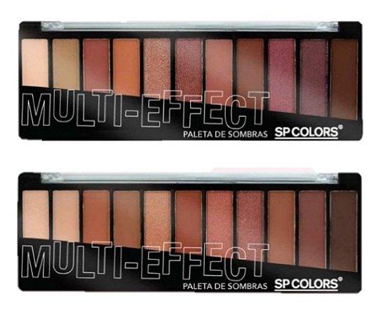 Paleta de Sombras Nude Multi-Effect SP137 - 2 Unidades ( 1 e 2 )