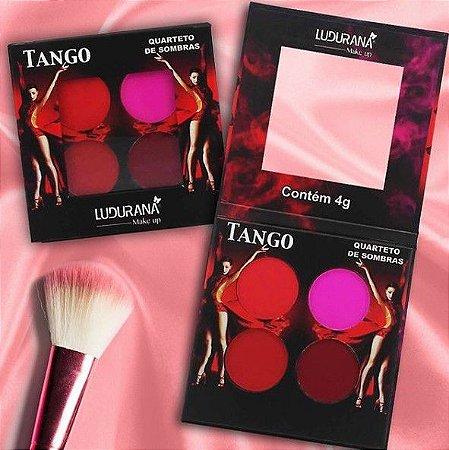 Quarteto de SOmbras Ludurana Tango M000106 - Kit com 12 Unidades