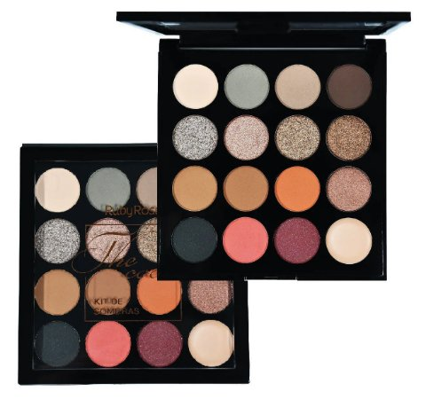 Paleta de Sombras The Cocoa Ruby Rose HB1021 - Display C/ 12Unid