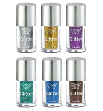 Sombra Glitter CG186 - Kit C / 6 unid