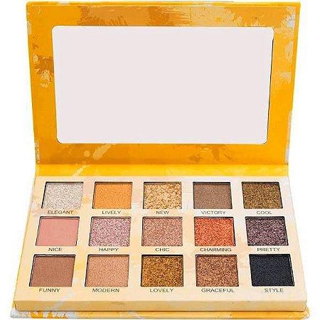 Paleta de Sombras Spotlight Gold Luisance L2037 - Display C/ 12 unid