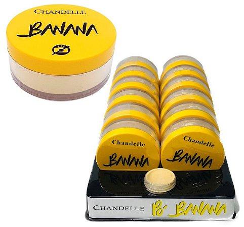 Pó Banana Chandelle - Display C/ 12uni e Prov