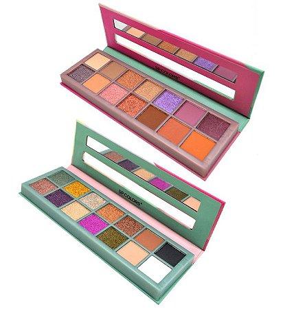 Paleta de Sombras Fashion Style SP Colors SP112 - Kit C/12 unid