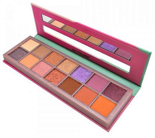 Paleta de Sombras Fashion SP Colors SP112-A