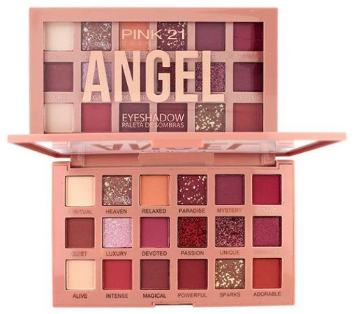 Paleta de Sombras Angel CS2729 Cor 02 - Kit C/ 6 Unid