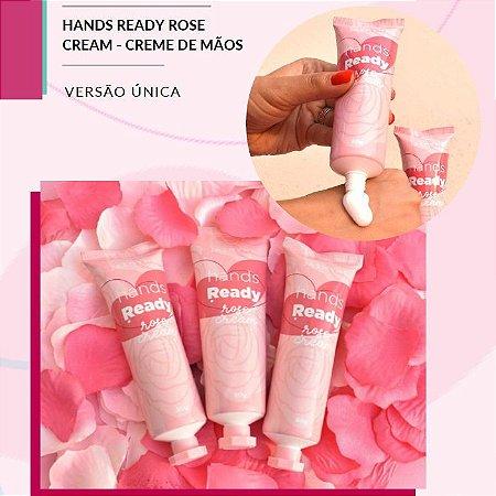 Creme para Mãos Hidratação Profunda Hands Read Rose JS03016 - Kit C/ 6 unidades