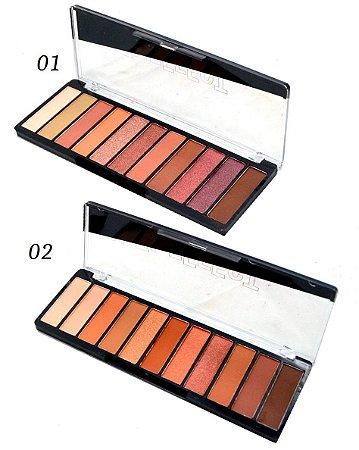 Paleta de Sombras 11 Cores Multi-Effect SP Colors SP137 - 12 Unidades ( 1 e 2 )