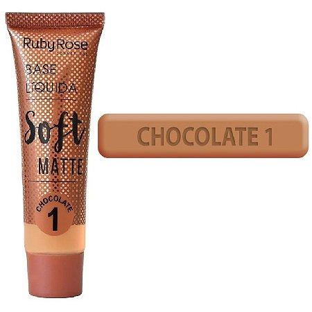 Base Soft Matte Ruby Rose ( Chocolate 1 ) - Unitario