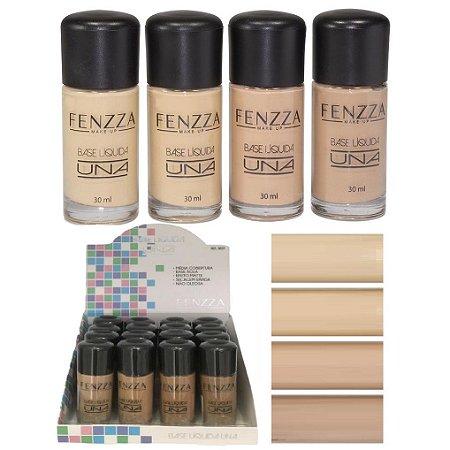 Fenzza - Base Líquida Matte Una  BE07 - Kit C/16 Unidades