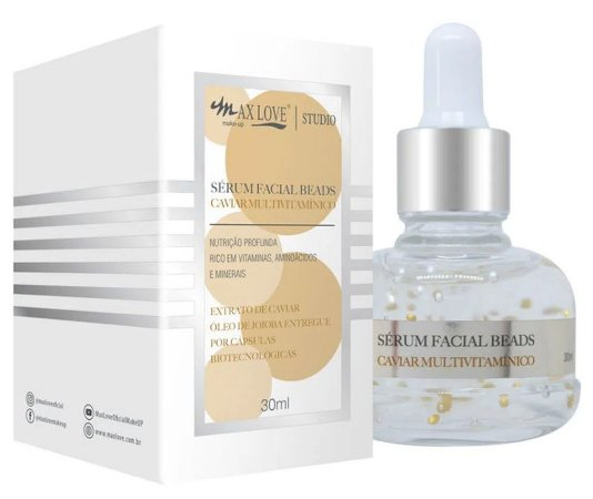 Novo Serum Facial Beads Caviar Multivitamínico Max Love