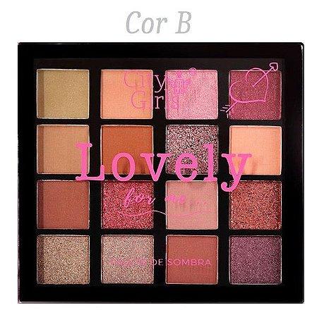 Paleta de Sombras Lovely City Girl CG165 - Cor B