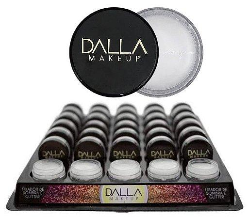 Fixador de Sombra e Glitter Dalla Makeup - Display com 35 unidades
