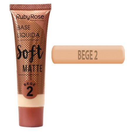Ruby Rose - Base Soft MatteBege 2 - Unitario