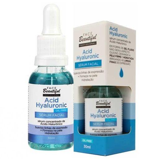 Sérum Facial Acid Hyaluronic Face Beautiful - Unitario