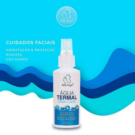 Água Termal Skin Care Belle Angel I019 - Display com 12 unidades