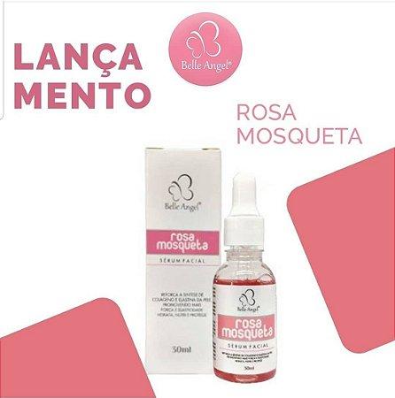 Sérum Facial Rosa Mosqueta Colágeno E Elastina Belle Angel I028 - 24 Unid