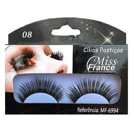 Cilios Postiços Miss france MF6994 (008) - Display C/ 10 pares