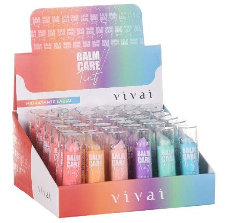 Balm Care HIdratante Labial Vivai 3040 - Display C/ 36 unid